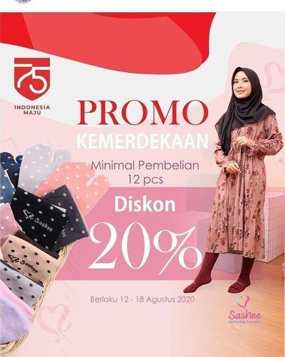 SASHEE DISKON 20% MIN. PEMBELIAN 12PCS (27516119) di Kota Jakarta Selatan