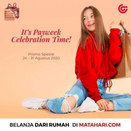 Matahari Paycheck Celebration Time Promo (27532683) di Kota Jakarta Selatan