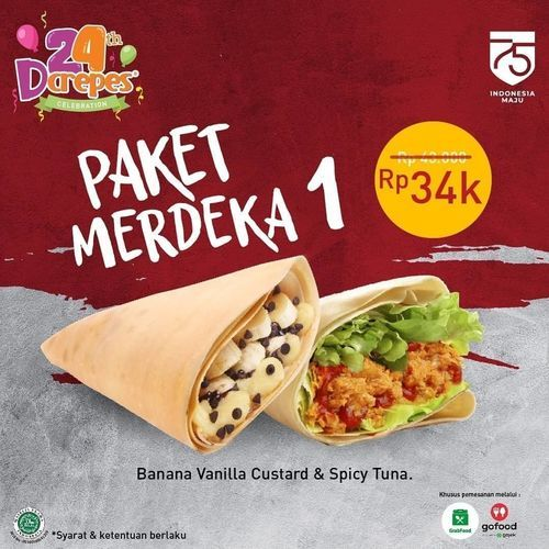 D'crepes Promo Paket Merdeka (27532895) di Kota Jakarta Selatan