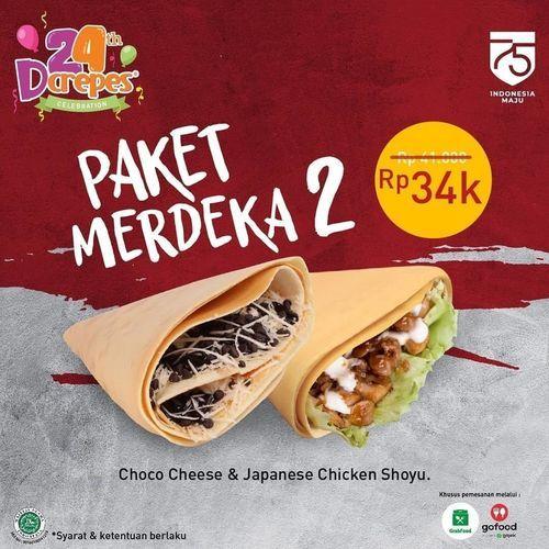 D'crepes Promo Paket Merdeka (27532899) di Kota Jakarta Selatan