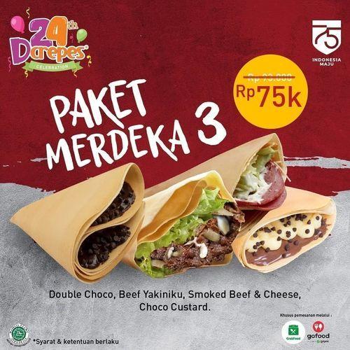 D'crepes Promo Paket Merdeka (27532907) di Kota Jakarta Selatan