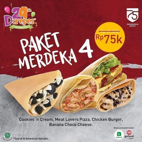 D'crepes Promo Paket Merdeka (27532911) di Kota Jakarta Selatan