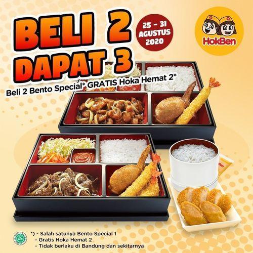 HokBen Promo Beli 2 Dapat 3 (27533123) di Kota Jakarta Selatan