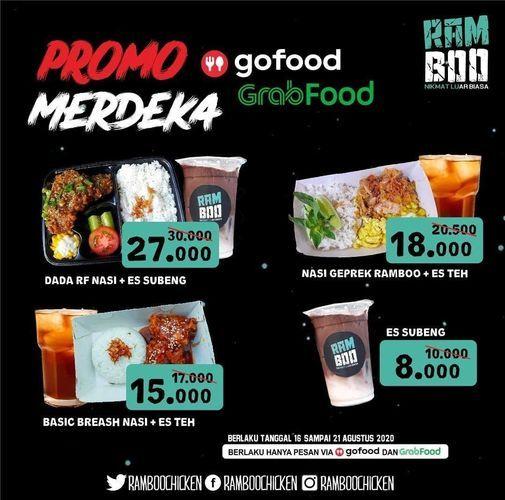 PROMO MERDEKA RAMBOO CHICKEN VIA GRABFOOD / GOFOOD (27536487) di Kota Jakarta Selatan
