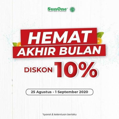 SunOne Fresh Meat Hemat Akhir Bulan Diskon 10% (27550551) di Kota Jakarta Selatan