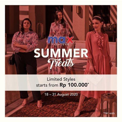 Max Fashion Summer Treats Offer (27550635) di Kota Jakarta Selatan
