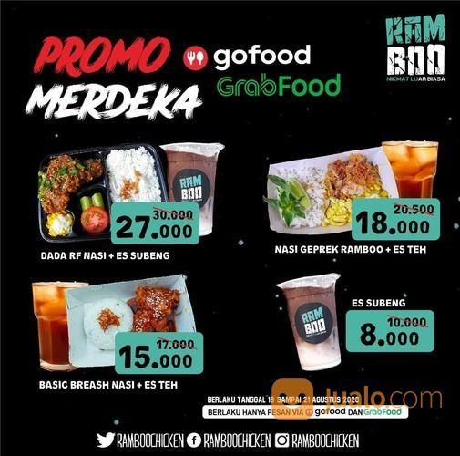 RAMBOO CHICKEN PROMO MERDEKA GO FOOD DAN GRABFOOD (27565495) di Kota Jakarta Selatan