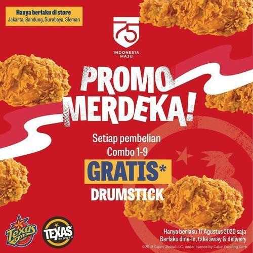 TEXAS CHICKEN MERDEKA PROMO 17 AGUSTUS (27565803) di Kota Jakarta Selatan