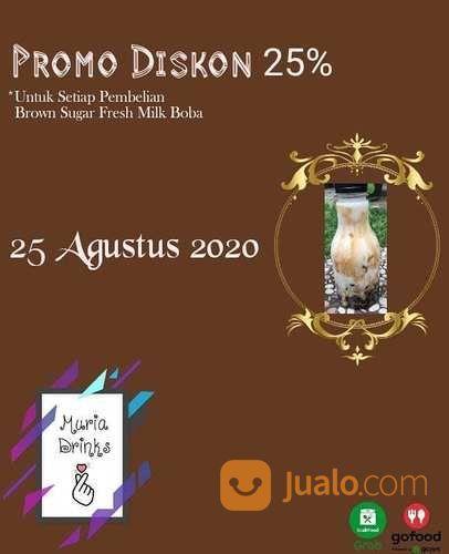 MURIA DRINK PROMO 25% DISKON GOFOOD (27566263) di Kota Jakarta Selatan