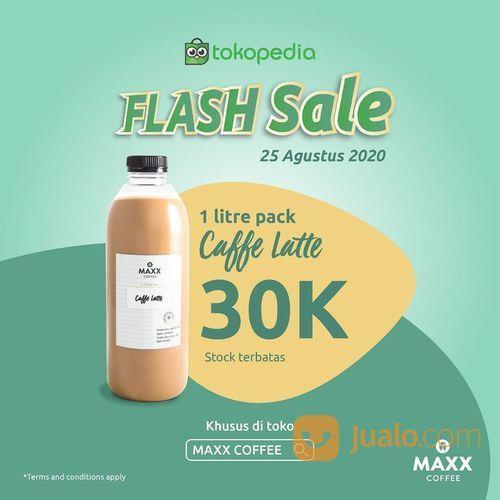 MAXX COFFEE FLASH SALE COFFEE LATTE 30K (27566519) di Kota Jakarta Selatan