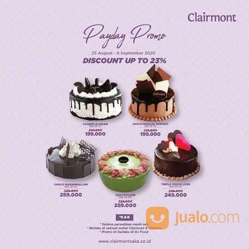 CLAIRMONT PROMO PAYDAY PARTY IS HERE (27566639) di Kota Jakarta Selatan