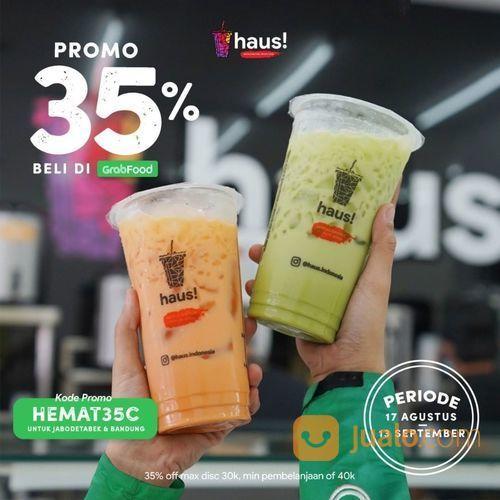 HAUS PROMO 35% DISKON DI GRABFOOD (27566751) di Kota Jakarta Selatan