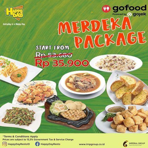 Happy Day Resto ID Merdeka Package (27571387) di Kota Jakarta Selatan