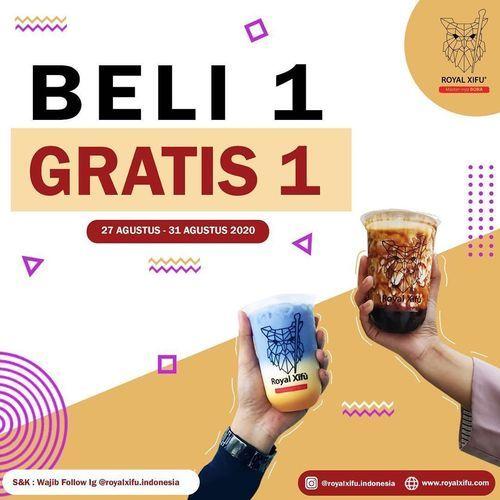 Royal Xifu Promo Beli 1 Gratis 1 (27571451) di Kota Jakarta Selatan