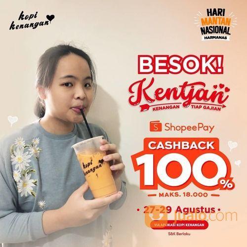 KOPI KENANGAN CASHBACK 100% DENGAN SHOPEPAY (27571903) di Kota Jakarta Selatan