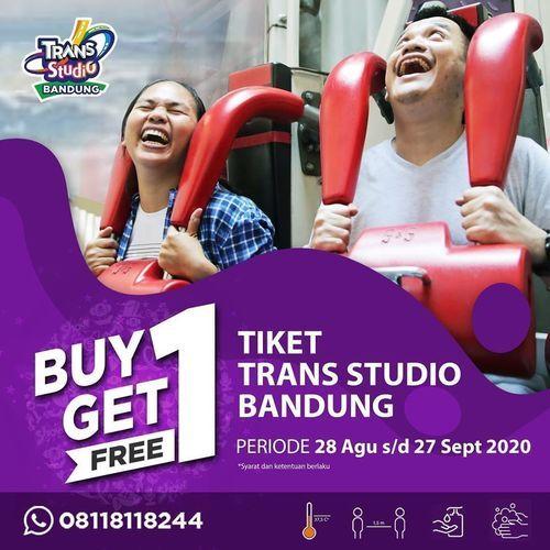 Trans Studio Bandung Promo Special BUY ONE GET ONE FREE (27584311) di Kota Bandung
