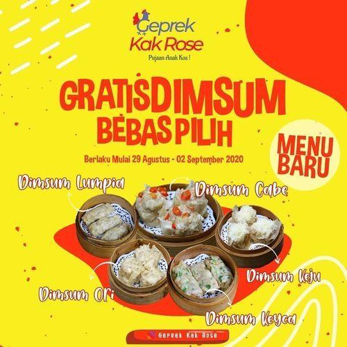 GEPREK KAK ROSE GRATIS DIMSUM SYARAT KETENTUAN BERLAKU (27586847) di Kota Jakarta Selatan
