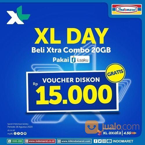 INDOMARET XL DAY BELI XTRA COMBO 20GB VOUCHER DISKON (27587143) di Kota Jakarta Selatan