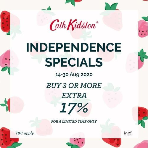 Cath Kidston Independence Specials Promo (27589071) di Kota Jakarta Selatan