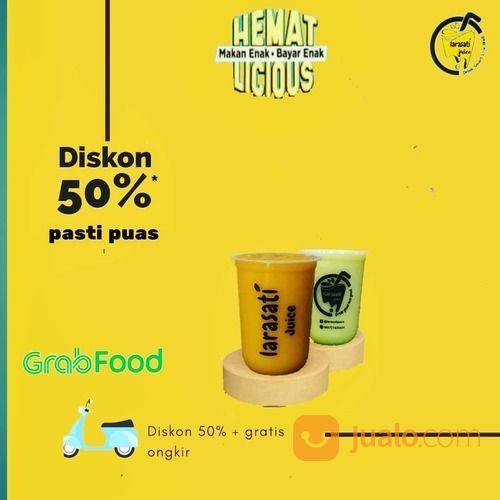 LARASATI JUICE Grabfood Diskon 50% + gratis ongkir (27595915) di Kota Jakarta Selatan