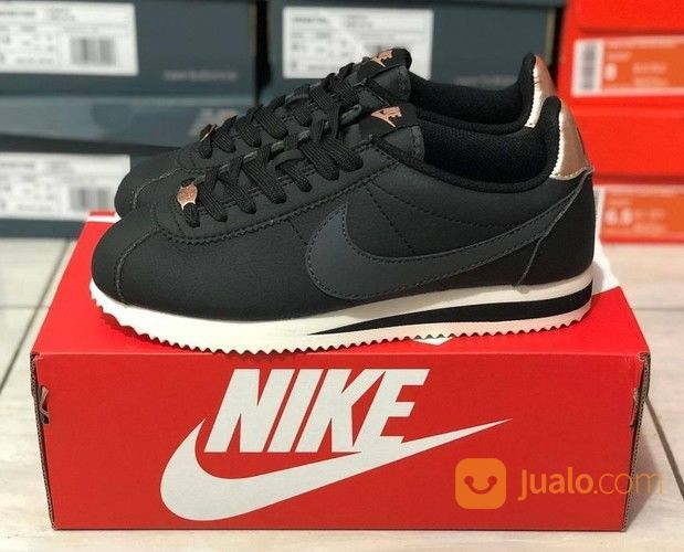 Sepatu Nike Cortez Black Rose Gold (27596111) di Kota Bandung