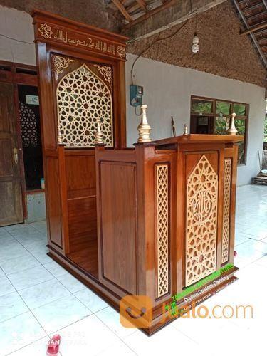 Mimbar Masjid Khutbah Podium Minimalis Modern Terbaru 019197 (27597431) di Kota Jakarta Utara