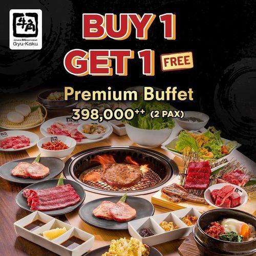 Gyu-Kaku Opening Promo BUY 1 GET 1 FREE PREMIUM BUFFET (27630267) di Kota Jakarta Pusat