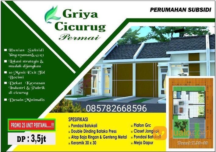 Rumah Baru, Nyaman, Bebas Banjir, Akses Atrategis Tol Bocimi (27647979) di Kota Sukabumi