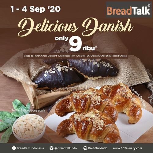 Breadtalk Indonesia Delicious Danish Only 9ribu (27659243) di Kota Jakarta Pusat