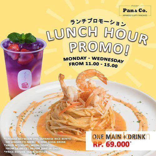 Pan & Co Lunch Hour Promo (27671447) di Kota Jakarta Selatan