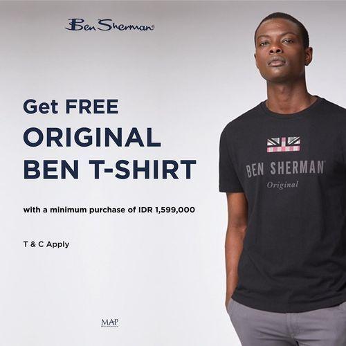 Ben Sherman Get Free Original Ben T-shirt (27671507) di Kota Jakarta Selatan