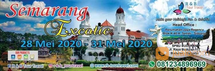Semarang Excotic 12 - 14 Februari 2021 Liburan Imlek Menginap 2 Malam (27672423) di Kab. Sidoarjo