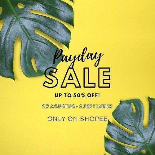 Shopatnoer Payday Sale Up To 50% (27722211) di Kota Jakarta Selatan