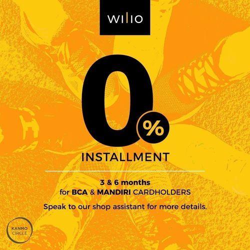 Wilio Indonesia Promo 0% Installment (27722215) di Kota Jakarta Selatan