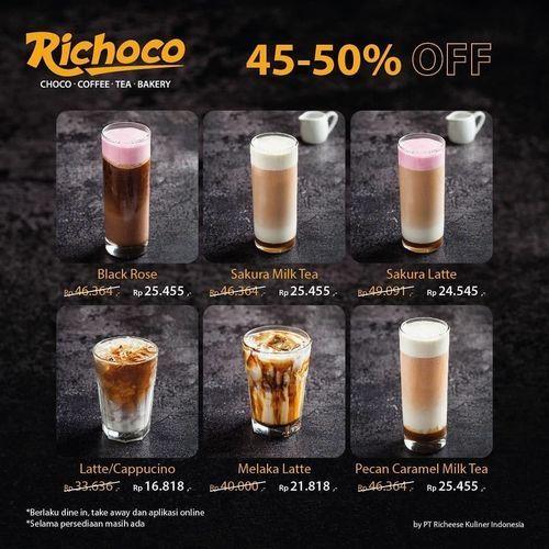 Richeese Factory Richoco Promo Diskon 45-50% (27722243) di Kota Jakarta Selatan