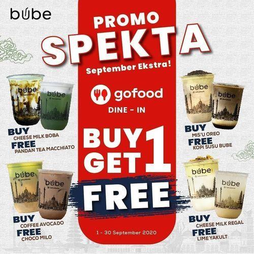 Bube Indonesia Promo Spekta Buy 1 Get 1 Free (27722295) di Kota Jakarta Selatan