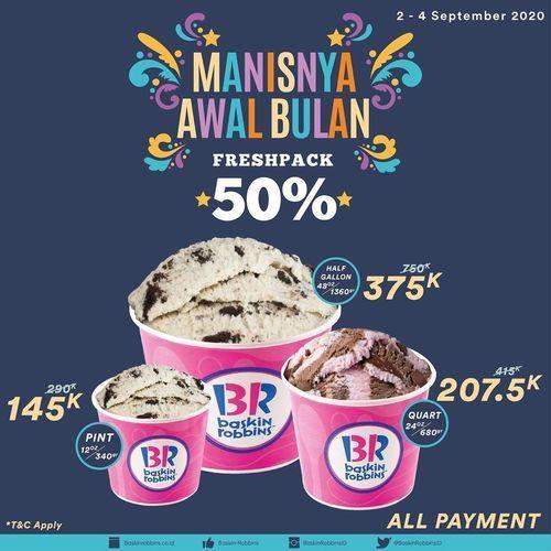 Baskin Robbins Manisnya Awal Bulan Freshpack 50% (27722403) di Kota Jakarta Selatan
