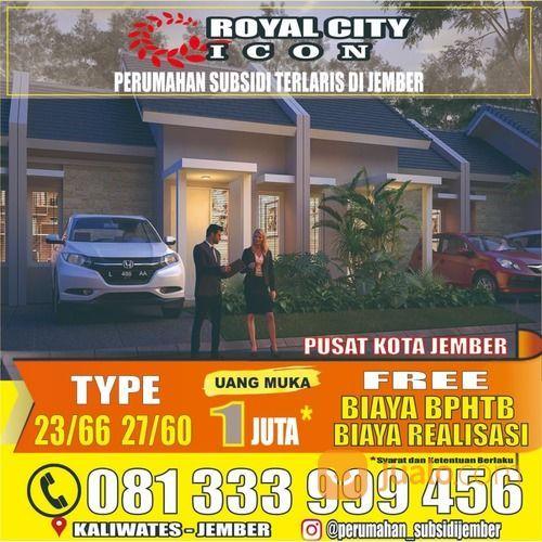 RUMAH SUBSIDI KALIWATES JEMBER ROYAL CITY ICON (27751095) di Kab. Jember