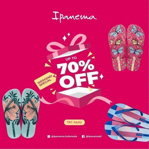 Ipanema Disc. 70% Off (27757903) di Kota Jakarta Selatan