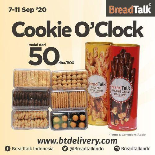 BreadTalk Cookie O'Clock Start From 50k (27758875) di Kota Jakarta Selatan