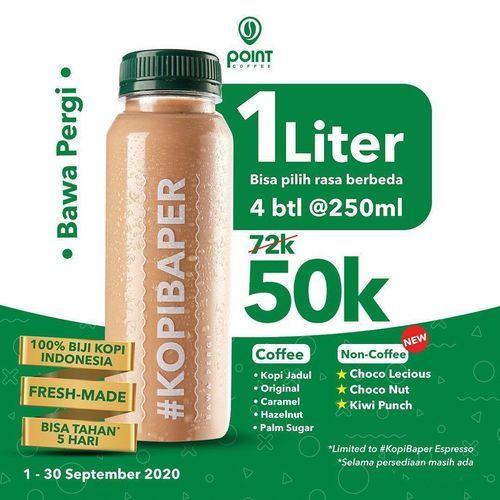 Point Coffee New Menu 1L 50k (27759503) di Kota Jakarta Selatan