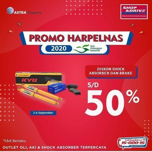 Shop&Drive Promo Harpelnas s/d 50% (27766503) di Kota Jakarta Selatan