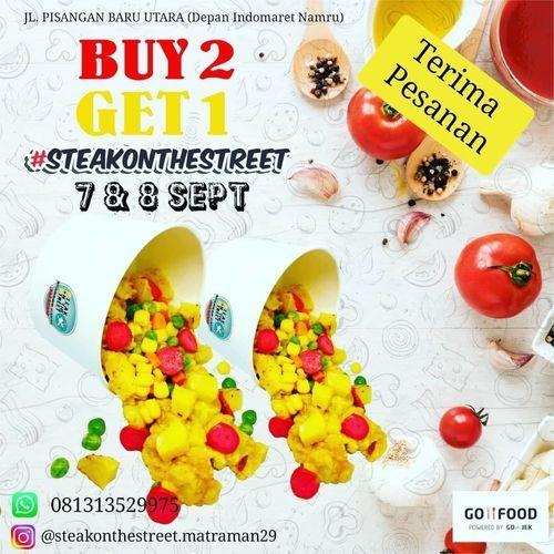 SteakOnTheStreet Promo Buy 2 Get 1 (27766959) di Kota Jakarta Selatan