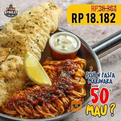 FISH STREAT DISKON 50% FISH PASTA MARINARA (27797915) di Kota Jakarta Selatan