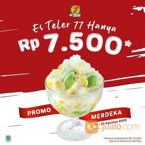 Es Teler 77 dengan harga spesial Rp 7.500 saja! (27798339) di Kota Jakarta Selatan