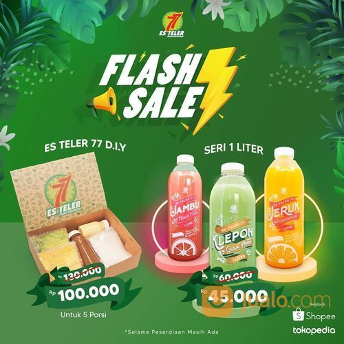 Es Teler 77 Flash Sale *Khusus Jabodetabek (27798659) di Kota Jakarta Selatan