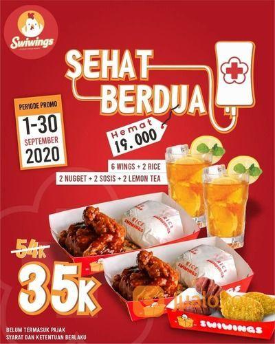 SWIWINGS PROMO SEPTEMBER CERIA DINE-IN & TAKEAWAY ONLY (27801507) di Kota Jakarta Selatan