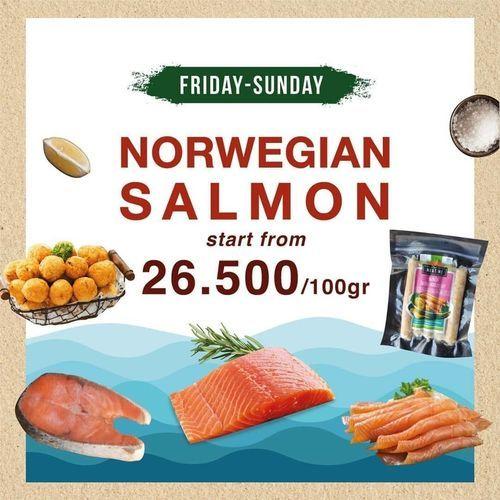 Meat Me Steak Weekend Promotion Norwegian Salmon (27803239) di Kota Jakarta Selatan