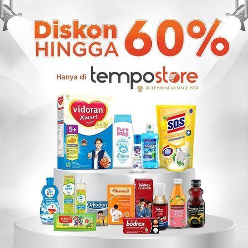 Tempo Store Diskon Hingga 60% (27803743) di Kota Jakarta Selatan