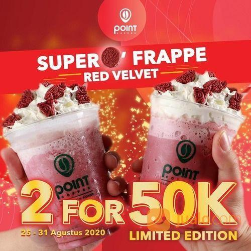 INDOMARET POINT 2 FOR 50K SUPER FRAPPE RED VELVET PROMO (27805191) di Kota Jakarta Selatan